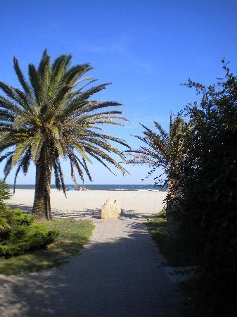 Marina d`Erba Rossa : ingresso spiaggia