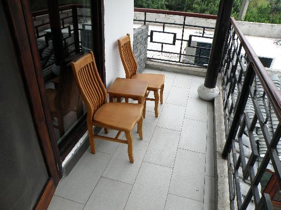 Li River Resort: Balcony - Deluxe Room