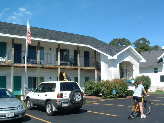 Innlet Motel: Ready for a bike ride