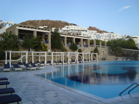 ‪‪Mykonos Grand Hotel & Resort‬: pool‬