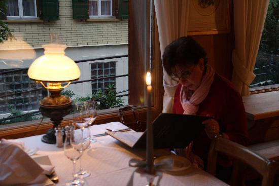 Hotel Schönegg: lovely table