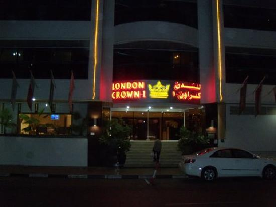 London crown 1 hotel apartments dubai verenigde for London hotel dubai