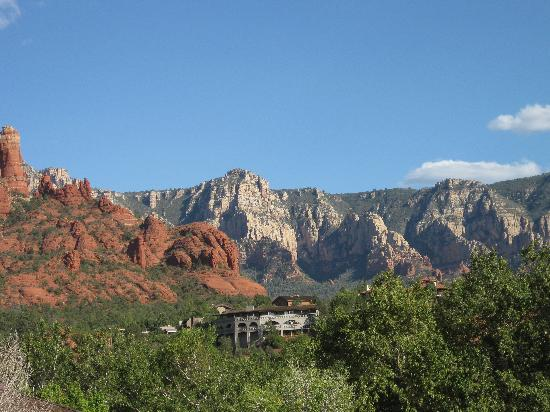 Sedona Motel: view from the hotel patio