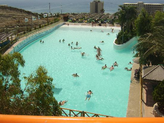 Golden Odyssey Kolimbia: wave pool at waterpark