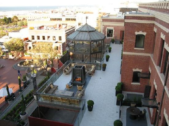 Fairmont Heritage Place, Ghirardelli Square: View of the one (of two) roof top terraces