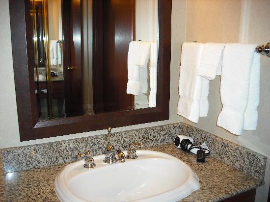 Olympic Lodge: Bathroom Sink