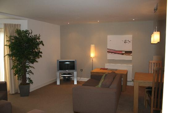 The Valley: Living area, Beacon Cottage