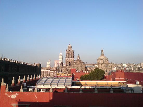 Hostel Moneda : Vista desde la terraza