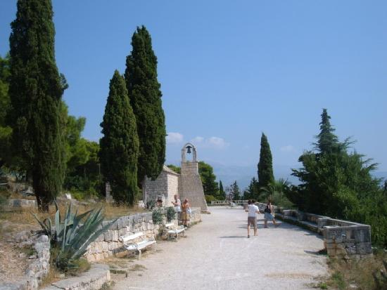 Marjan Park: Chapel and viewpoint
