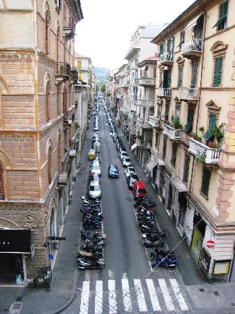 Hotel Genova: vista desde la habitación