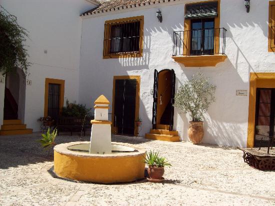 Hacienda el Huerto: un des patio