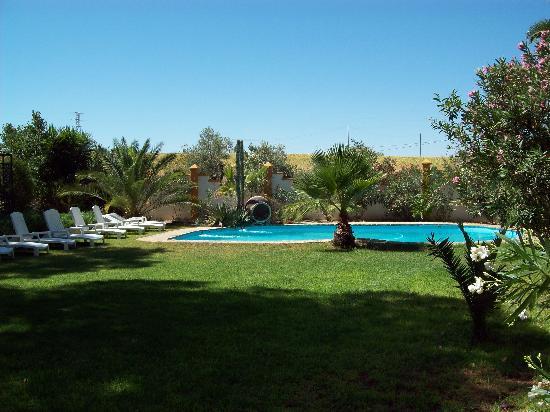 Hacienda el Huerto: la piscine