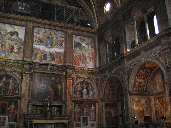 Milán, Italia: S.Maurizio al Monastero Maggiore.