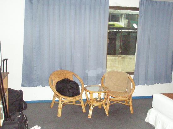 Sapphirtel Inn: Bedroom window 2nd stay