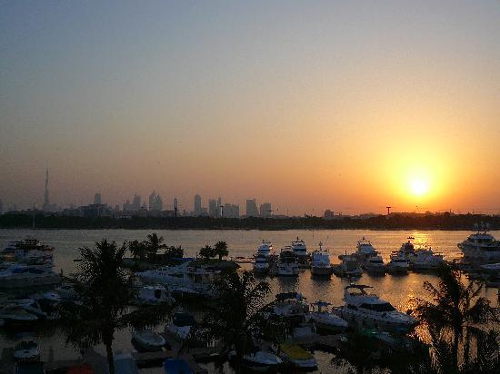 Park Hyatt Dubai: sunset view from our room