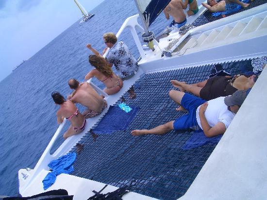 Cool Runnings Catamaran Cruises: Not much happeninghere...