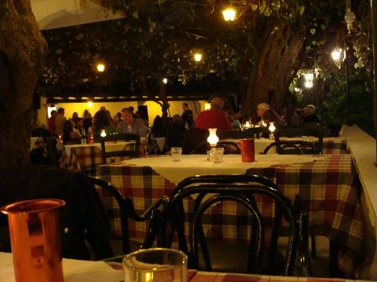 Liapades, Grecja: Greek night at our tavern.