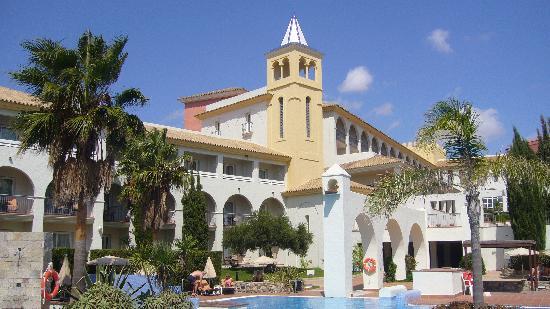 Hotel Fuerte Conil - Costa Luz : Hôtel vu du solarium 1