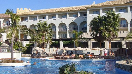 Hotel Fuerte Conil - Costa Luz : Hôtel vu du solarium 3