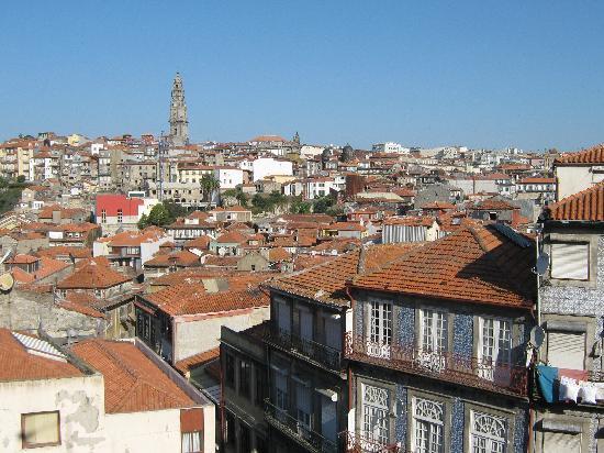 Hotel do Norte: Vue de Porto depuis la Sé