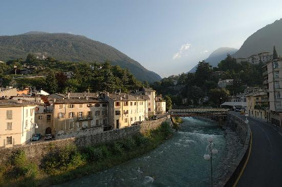 Sondrio, Italien: View from room