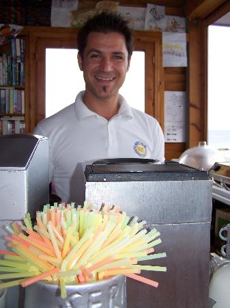 "Serita Beach Hotel: kostas "" top man"" sept08"