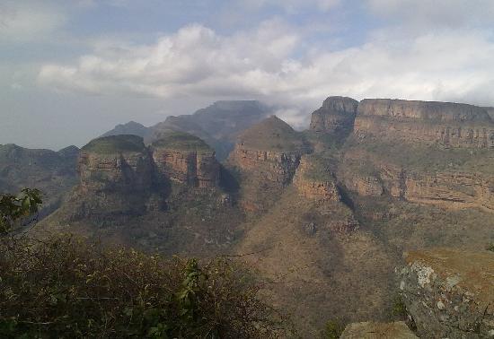 Mpumalanga, Sudáfrica: Rondavels del Cañón del río Blyde.