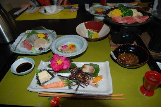 Hotaru: 夕食です