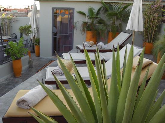 Riad Jardin des Reves: Solaruim sur la terrasse