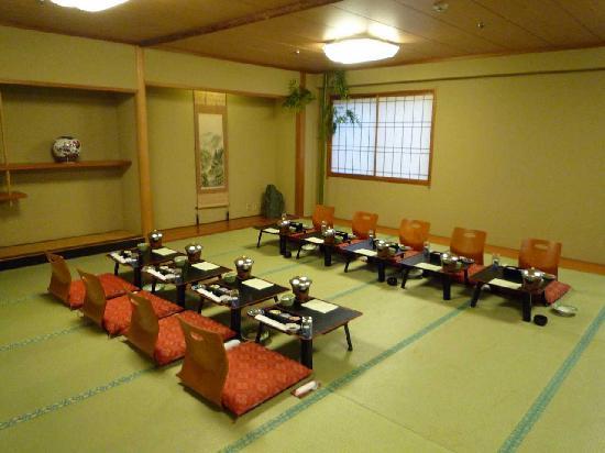 Urabandai Royal Hotel: 宴会場