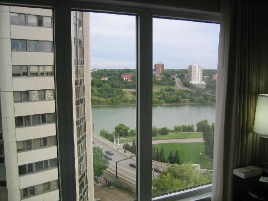 Radisson Hotel Saskatoon: View from the room