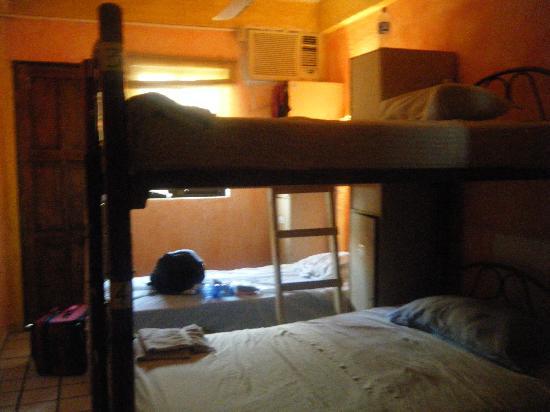 Hotel de Mar: the all girls' 4 bed dorm room