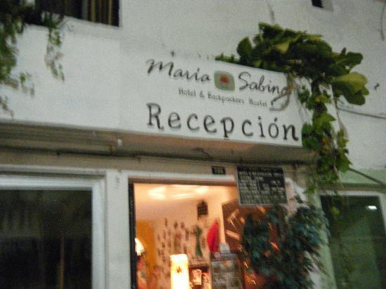 هوتل دو مار: Entrance to Maria Sabina Reception