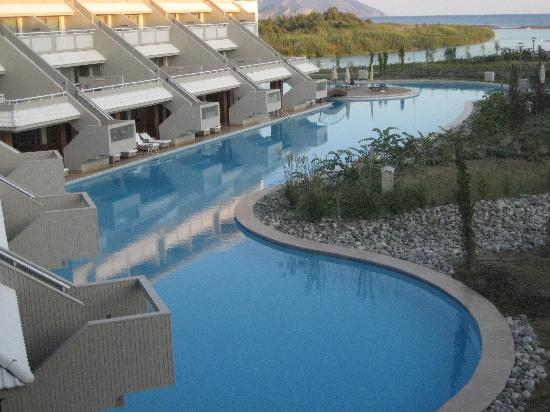 Hilton Dalaman Sarigerme Resort & Spa: view to the relaxtion area