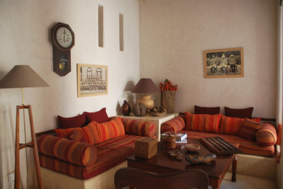 Lamu House Hotel: Lounge corner