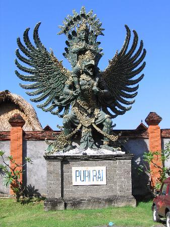 Hotel Puri Rai : Le Puri Rai (Puri voulant dire Palais)