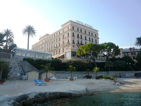 Hotel Royal-Riviera: hote from the beach