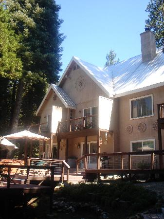 Yosemite Big Creek Inn: The BCI from garden