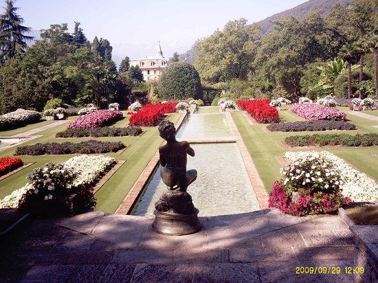 Canton of Ticino, Suíça: Giardini a terrazza di villa Taranto