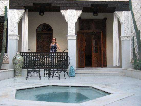La Sultana Marrakech : Antelope room in the Sultan riad, which has a little plunge pool