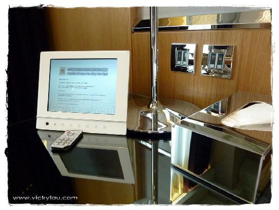 Hotel Eclat Taipei: Digital photo frame