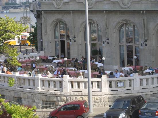 Danubius Hotel Gellert: Il ristorante sulla terrazza