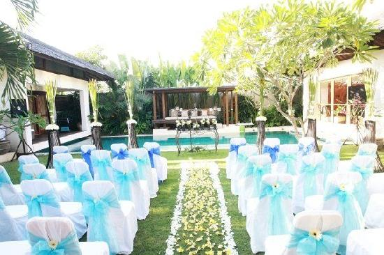 Our Wedding Ceremony Venue In Grand Villa Picture Of Villa Air