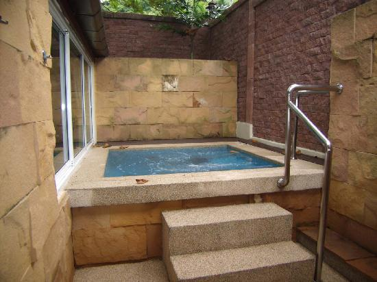 Andaman White Beach Resort Our Private Jacuzzi