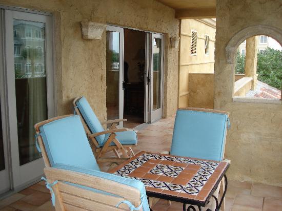 Ocean Lodge : Private Patio