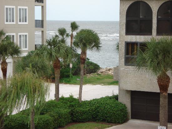 Ocean Lodge : View of Ocean from Room Patio