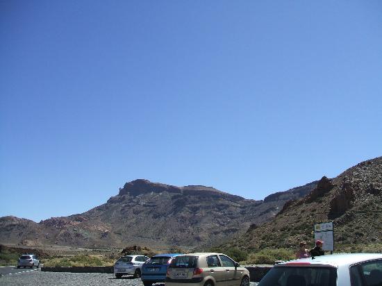 Hotel Mar y Sol : Volcanic Mount Teidi with spectacular scenery