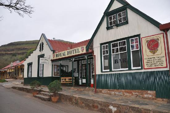 Pilgrim's Rest, South Africa: Façade Royal Hotel
