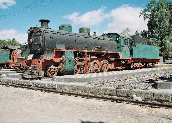 Hejaz Railway: One of the larger engines