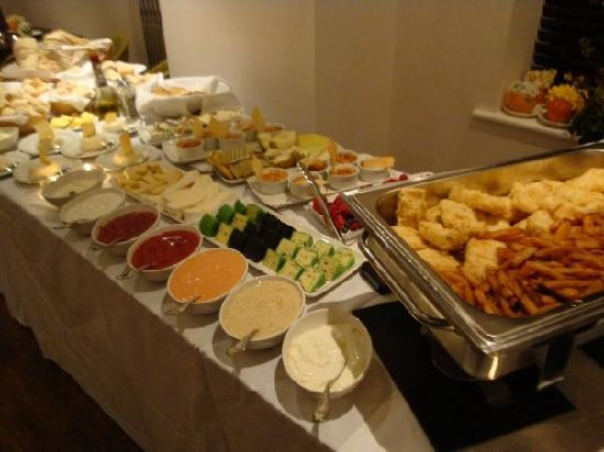Abersoch, UK: Wedding evening buffet - The Venetia
